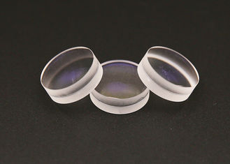 Round Optical Glass Doublets Cemented Lenses Double Achromatic Lens