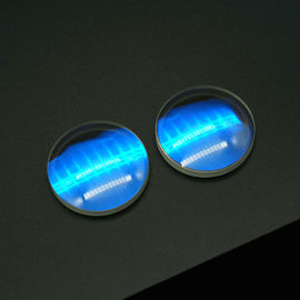 UV Fused Silica Glass Optical Lens , Optical Component With AR Coating