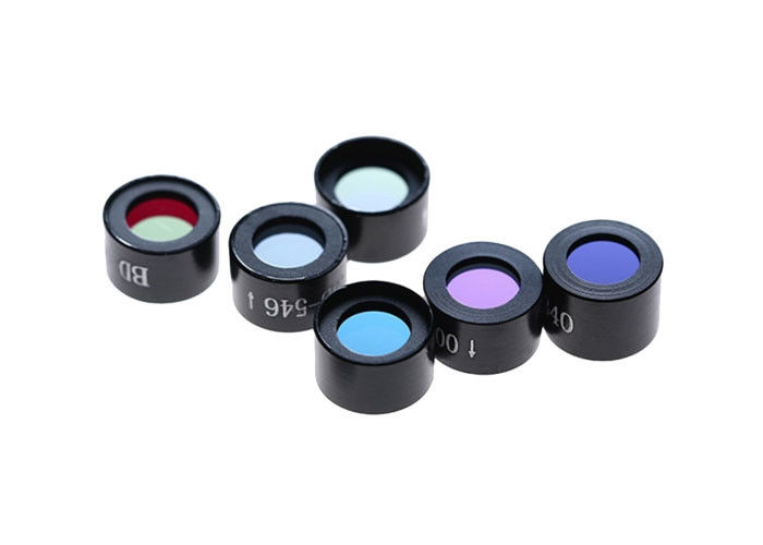 Mounted 340nm Biochemical Analyze Optical Filter With 0.2-0.5mm Chamfer